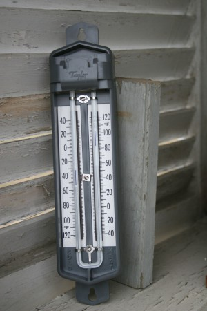 Hi-Low Thermometer
